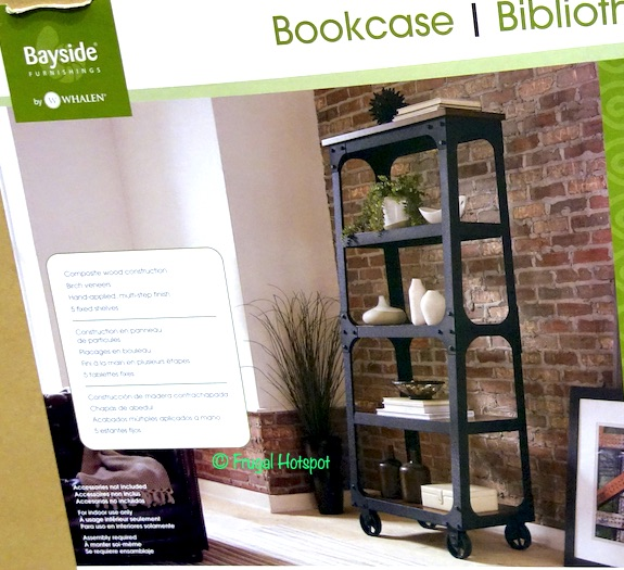 Costco: Bayside Furnishings 72″ Ladder Bookcase $199.99