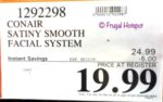 Costco Sale Price: Conair Satiny Smooth All-in-One Facial Trim System