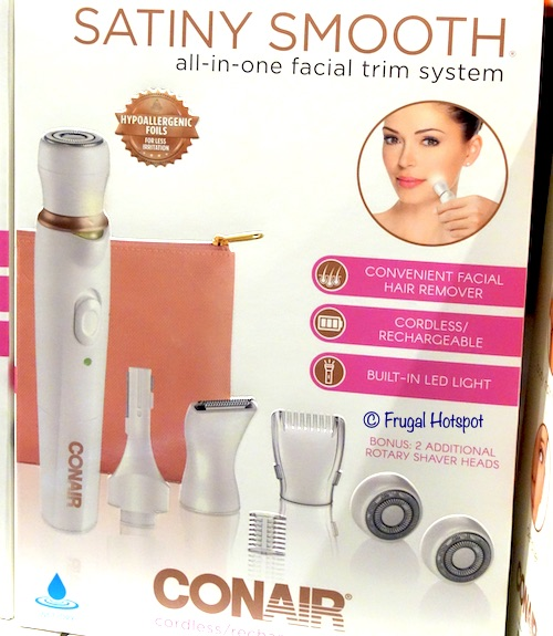 Conair Satiny Smooth All-in-One Facial Trim System at Costco