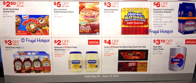 Costco Coupon Book: May 22, 2019 - June 16, 2019. Page 16