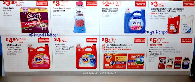 Costco Coupon Book: May 22, 2019 - June 16, 2019. Page 20