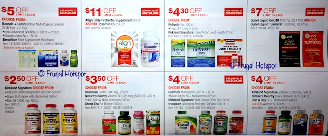Costco Coupon Book: May 22, 2019 - June 16, 2019. Page 21