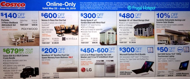 Costco Coupon Book: May 22, 2019 - June 16, 2019. Page 23