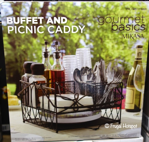Gourmet Basics by Mikasa Buffet and Picnic Caddy Costco