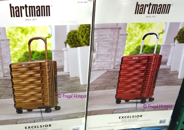 Costco Sale: Hartmann Excelsior 22″ Hardside Spinner Carry-On $99.99