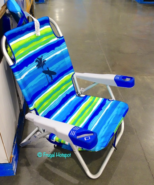 Kirkland Signature Deluxe Backpack Beach Chair Costco