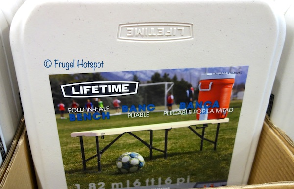 Lifetime 6 Ft. Fold-in-Half Bench Costco
