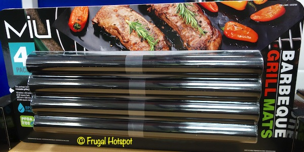 Costco Sale: Miu Barbeque Grill Mats 4-Pk $9.99