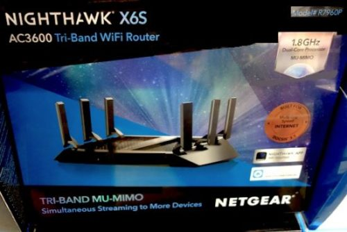 Costco Sale: Netgear Nighthawk X6S AC3600 Tri-Band WiFi Router $149.99