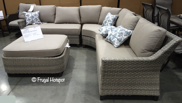 Sunvilla Costa 4-Piece Woven Sectional Costco