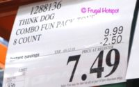 Costco Sale Price: Think Dog 8-Piece Combo Fun Pack Dog Toys