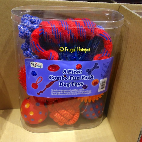 Think Dog 8-Piece Combo Fun Pack Dog Toys at Costco