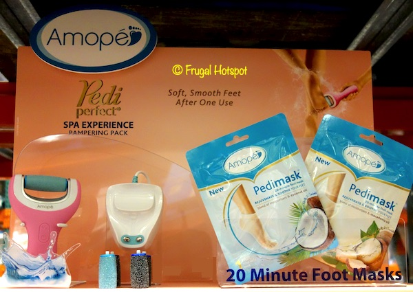 Amope Pedi Perfect Spa Experience Rechargeable Foot File Costco