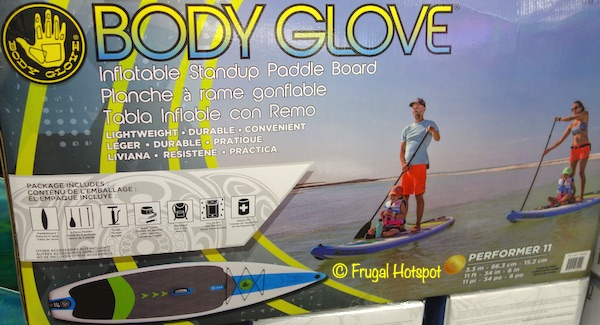 Body Glove Performer 11-Foot Inflatable Standup Paddle Board Costco