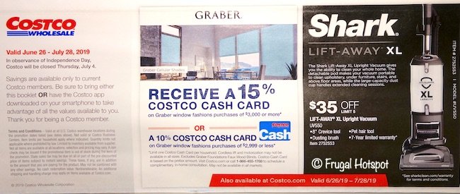 Costco JULY 2019 Coupon Book P1