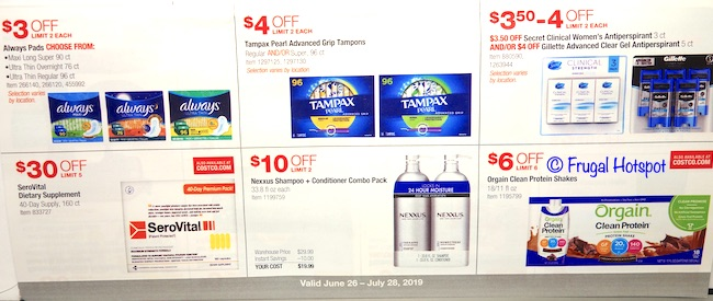 Costco JULY 2019 Coupon Book P12