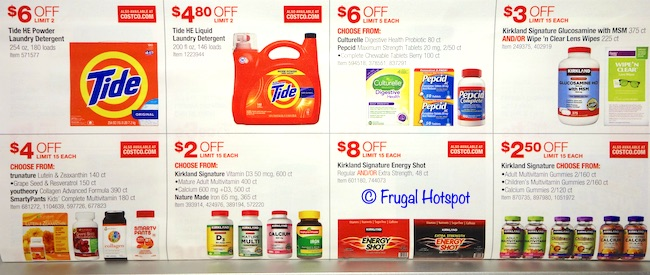 Costco JULY 2019 Coupon Book P19