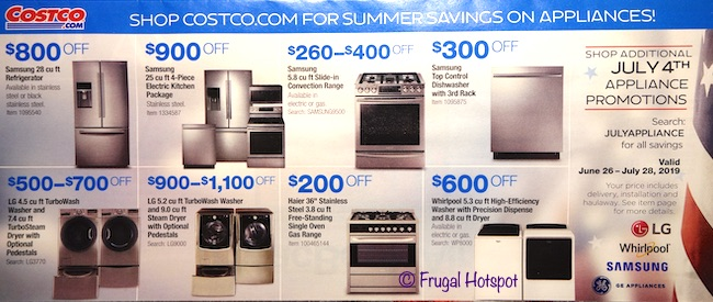 Costco JULY 2019 Coupon Book P2