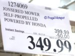 Jonsered Self-Propelled Mower Costco Sale Price