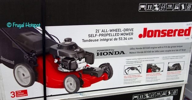 Jonsered Self-Propelled Mower Costco