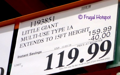 Little Giant Multi-Use Type 1A Ladder System Costco Sale Price