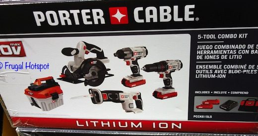 Porter Cable 5-Tool Combo Kit Costco