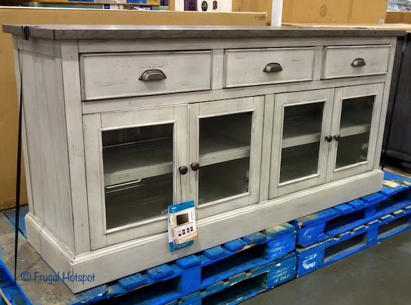 Bayside Furnishings 72 Accent Console Costco Display