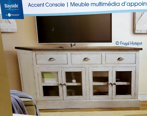 Bayside Furnishings 72 Accent Console Costco