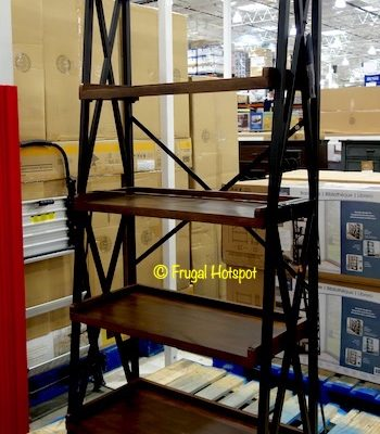 "Bayside Furnishings Elise 72"" Ladder Bookcase Costco"