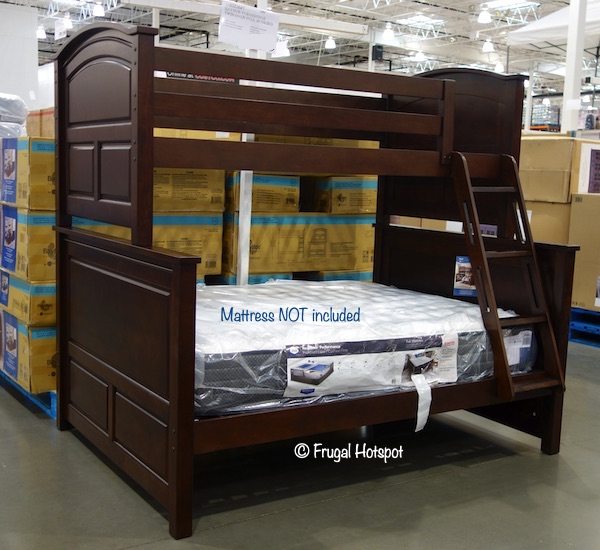 Bayside Furnishings Twin Over Full Bunk Bed Costco Display