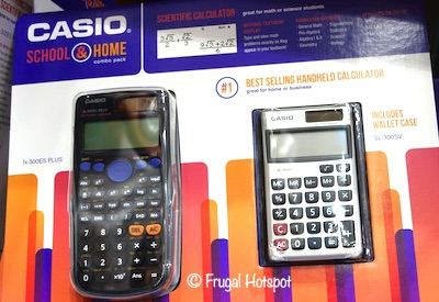 Casio Calculator fx-300ES Plus AND SL-300SV Costco