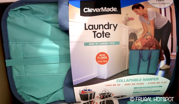 CleverMade Collapsible Laundry Tote Costco