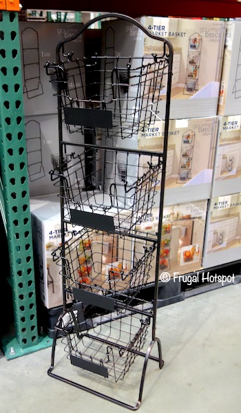 Gourmet Basics 4-Tier Market Basket Costco