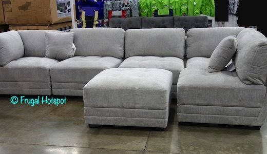 Lenora 6 Pc Modular Sectional Costco Display