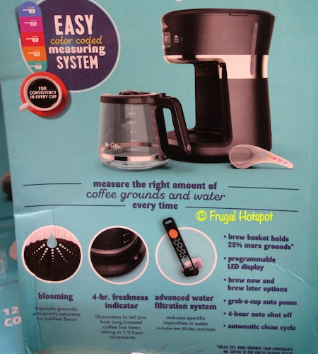 Mr. Coffee 12-Cup Easy Measure Brewer Costco