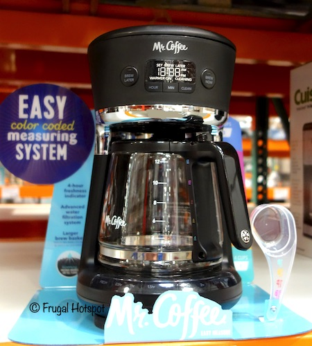 Mr. Coffee 12-Cup Easy Measure Brewer Costco Display