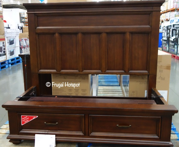 Northridge Home Conner Queen Bed Costco Display