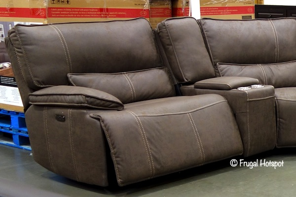 Costco: Parker Power Reclining Sectional $1,799.99 | Frugal ...