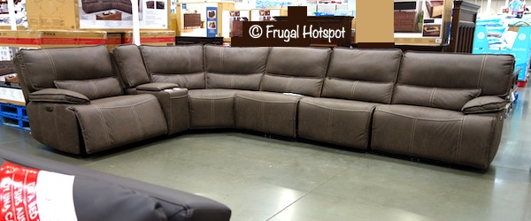 Costco Parker Power Reclining Sectional 1 799 99 Frugal Hotspot