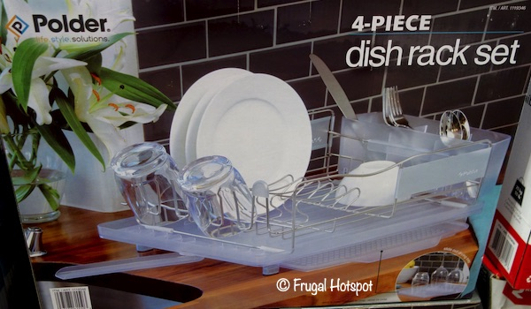 Polder Dish Rack Set Costco
