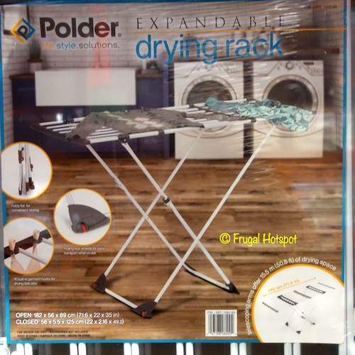 Polder Expandable Drying Rack Costco