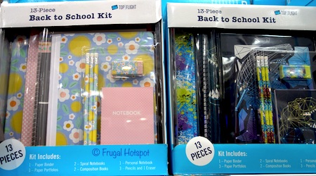 Top Flight 13-Pc Back to School Fashion Pack Costco