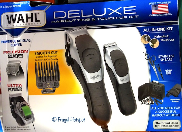 Wahl Deluxe Haircutting Kit Costco