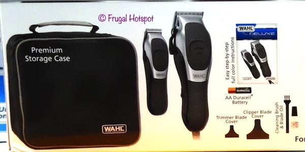 Wahl Deluxe Haircutting kit Contents Costco
