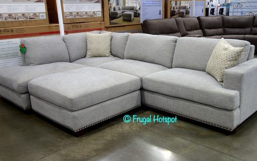 Bainbridge Sinclair Fabric Sectional Costco Display