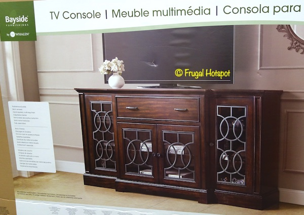 Bayside Furnishings Ashcroft Accent Console Costco