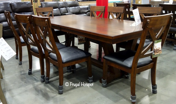 Bayside Furnishings Bolton 9-Piece Dining Set Costco