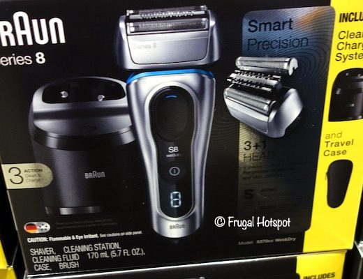 Braun Series 8 Shaver Costco