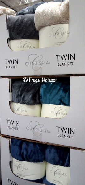 Charisma Twin Blanket Costco