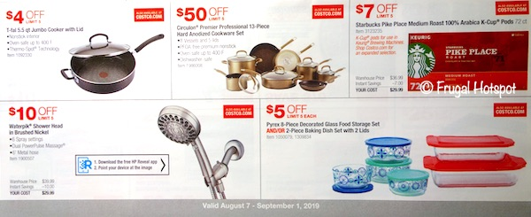 Costco Coupon Book August 2019 P13